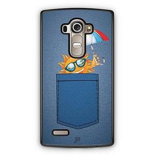 YuBingo Sun in Jeans Designer Mobile Case Back Cover for LG G4