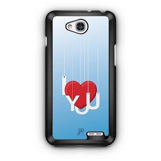 YuBingo I Love You Designer Mobile Case Back Cover for LG L90