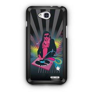 YuBingo Lady DJ Designer Mobile Case Back Cover for LG L90