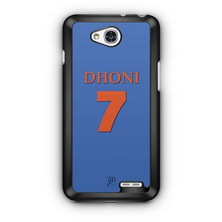 YuBingo Dhoni 7 Designer Mobile Case Back Cover for LG L90