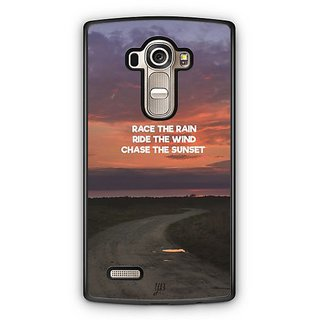 YuBingo Chase The Sunset Designer Mobile Case Back Cover for LG G4