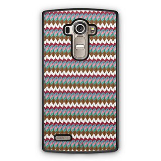 YuBingo Colourful Feathers Pattern Designer Mobile Case Back Cover for LG G4