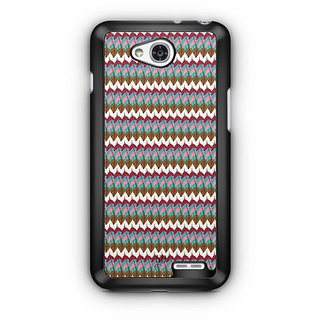 YuBingo Colourful Feathers Pattern Designer Mobile Case Back Cover for LG L90