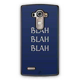 YuBingo Blah Blah Blah Designer Mobile Case Back Cover for LG G4