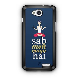 YuBingo Sab Moh Maya Hai Designer Mobile Case Back Cover for LG L90