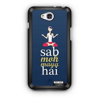 YuBingo Sab Moh Maya Hai Designer Mobile Case Back Cover for LG L90