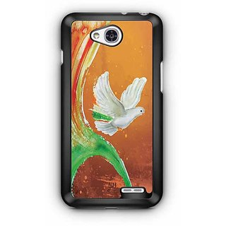 YuBingo Peace Dove Designer Mobile Case Back Cover for LG L90