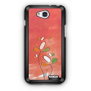 YuBingo Beauty of Flowers Designer Mobile Case Back Cover for LG L90