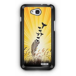 YuBingo Feathers to Birds Designer Mobile Case Back Cover for LG L90