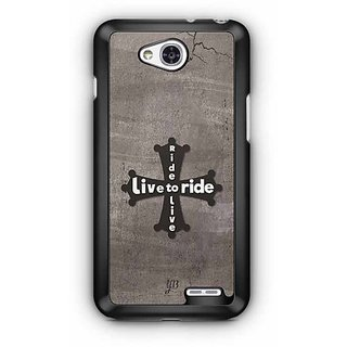 YuBingo Ride to Live, Live To Ride Designer Mobile Case Back Cover for LG L90