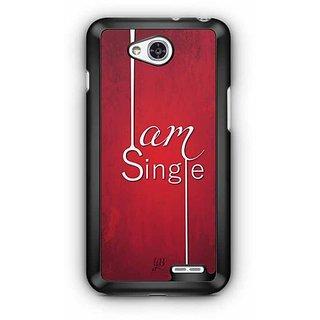 YuBingo I am Single Designer Mobile Case Back Cover for LG L90