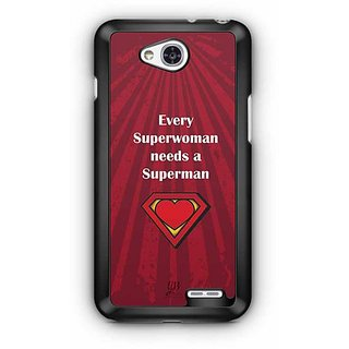 YuBingo Every Superwoman needs a Superman Designer Mobile Case Back Cover for LG L90
