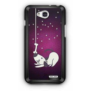 YuBingo The Greedy Dog Designer Mobile Case Back Cover for LG L90