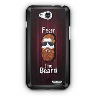 YuBingo Fear the Beard Designer Mobile Case Back Cover for LG L90