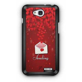 YuBingo Sending Love Designer Mobile Case Back Cover for LG L90