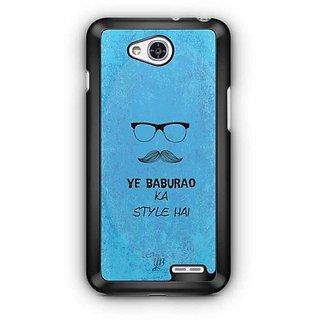 YuBingo Ye Baburao ka Style Hai Designer Mobile Case Back Cover for LG L90