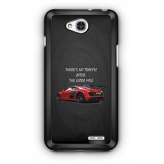 YuBingo There is no Traffic after the Extra Mile Designer Mobile Case Back Cover for LG L90