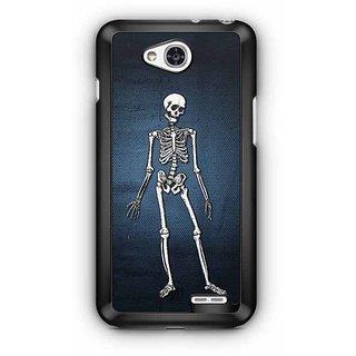 YuBingo Skeleton Designer Mobile Case Back Cover for LG L90