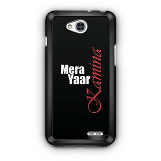 YuBingo Mera Yaar Kamina Designer Mobile Case Back Cover for LG L90