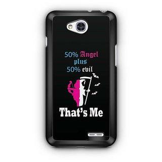 YuBingo 50% Angel, 50% Devil Designer Mobile Case Back Cover for LG L90