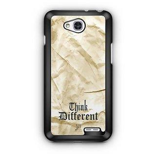 YuBingo Think Different Designer Mobile Case Back Cover for LG L90