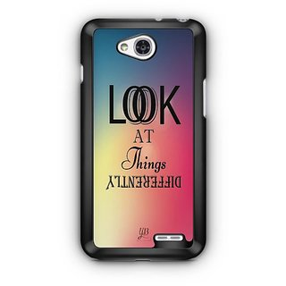 YuBingo Look at things differently Designer Mobile Case Back Cover for LG L90
