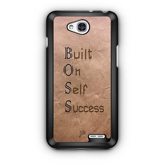 YuBingo Built On Self Success Designer Mobile Case Back Cover for LG L90