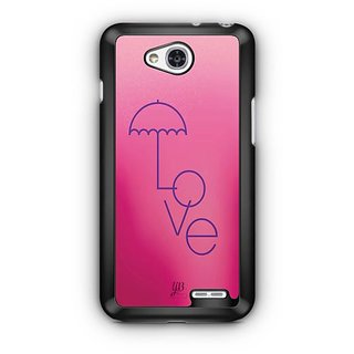 YuBingo Love Umbrella Designer Mobile Case Back Cover for LG L90