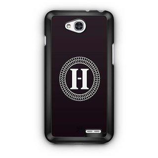 YuBingo Monogram with Beautifully Written letter H Designer Mobile Case Back Cover for LG L90