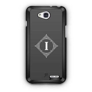 YuBingo Monogram with Beautifully Written letter I Designer Mobile Case Back Cover for LG L90