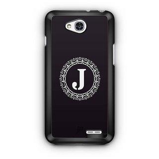 YuBingo Monogram with Beautifully Written letter J Designer Mobile Case Back Cover for LG L90