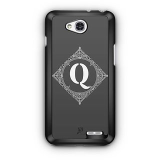 YuBingo Monogram with Beautifully Written letter Q Designer Mobile Case Back Cover for LG L90