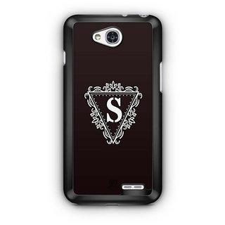 YuBingo Monogram with Beautifully Written letter S Designer Mobile Case Back Cover for LG L90