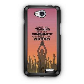 YuBingo Training, Commitment, Victory Designer Mobile Case Back Cover for LG L90