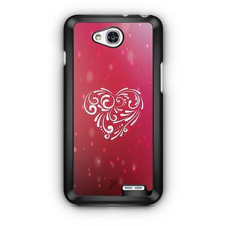 YuBingo Beautiful Heart Designer Mobile Case Back Cover for LG L90