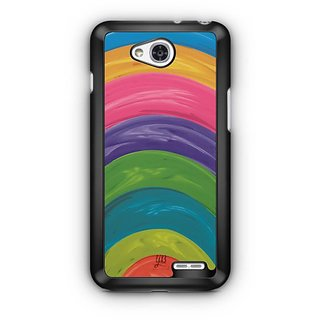 YuBingo Colourful Circles Designer Mobile Case Back Cover for LG L90