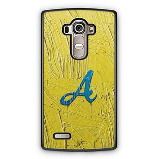 YuBingo Monogram with Beautifully Written Funky Colourful Paint Finish letter A Designer Mobile Case Back Cover for LG G4