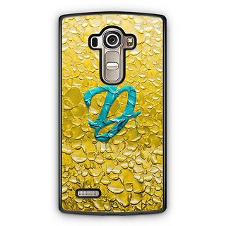YuBingo Monogram with Beautifully Written Funky Colourful Paint Finish letter D Designer Mobile Case Back Cover for LG G4