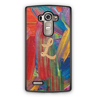 YuBingo Monogram with Beautifully Written Funky Colourful Paint Finish letter L Designer Mobile Case Back Cover for LG G4