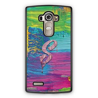 YuBingo Monogram with Beautifully Written Funky Colourful Paint Finish letter S Designer Mobile Case Back Cover for LG G4