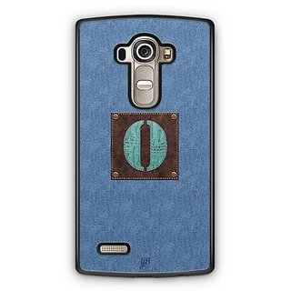 YuBingo Monogram with Beautifully Written Jeans and Macho Male Leather Finish letter O Designer Mobile Case Back Cover for LG G4