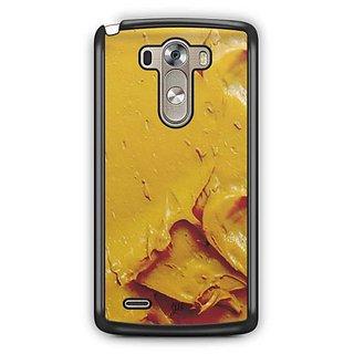 YuBingo Yellow Oil Paint Designer Mobile Case Back Cover for LG G3