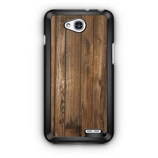 YuBingo Wood Finish (Plastic) Designer Mobile Case Back Cover for LG L90
