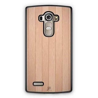 YuBingo Wood Finish (Plastic) Designer Mobile Case Back Cover for LG G4