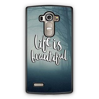 YuBingo Life is beautiful Designer Mobile Case Back Cover for LG G4