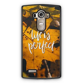 YuBingo Life is perfect Designer Mobile Case Back Cover for LG G4