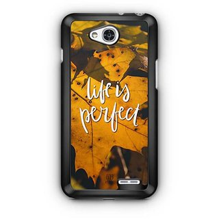 YuBingo Life is perfect Designer Mobile Case Back Cover for LG L90