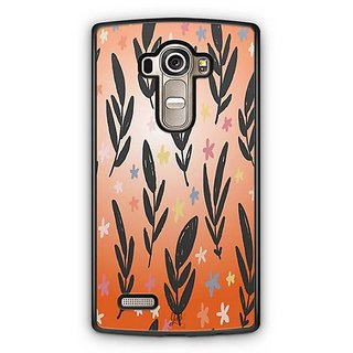 YuBingo Flowers and leaves pattern Designer Mobile Case Back Cover for LG G4