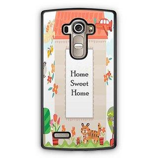 YuBingo Home Sweet Home Designer Mobile Case Back Cover for LG G4