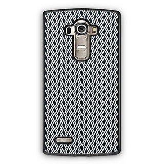 YuBingo Black and white maze pattern Designer Mobile Case Back Cover for LG G4